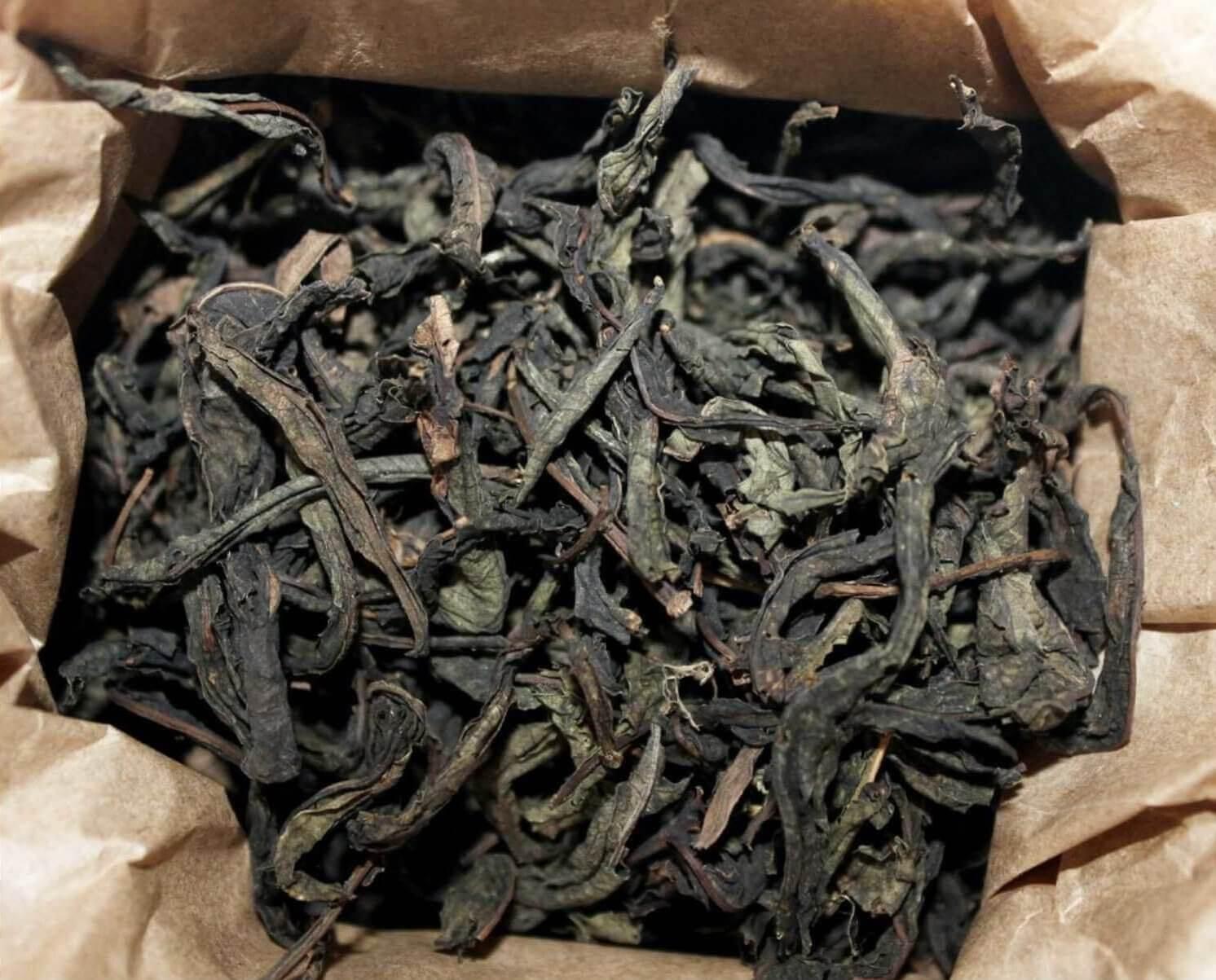 Чай чорний кипрійний Molfar, відкрита упаковка