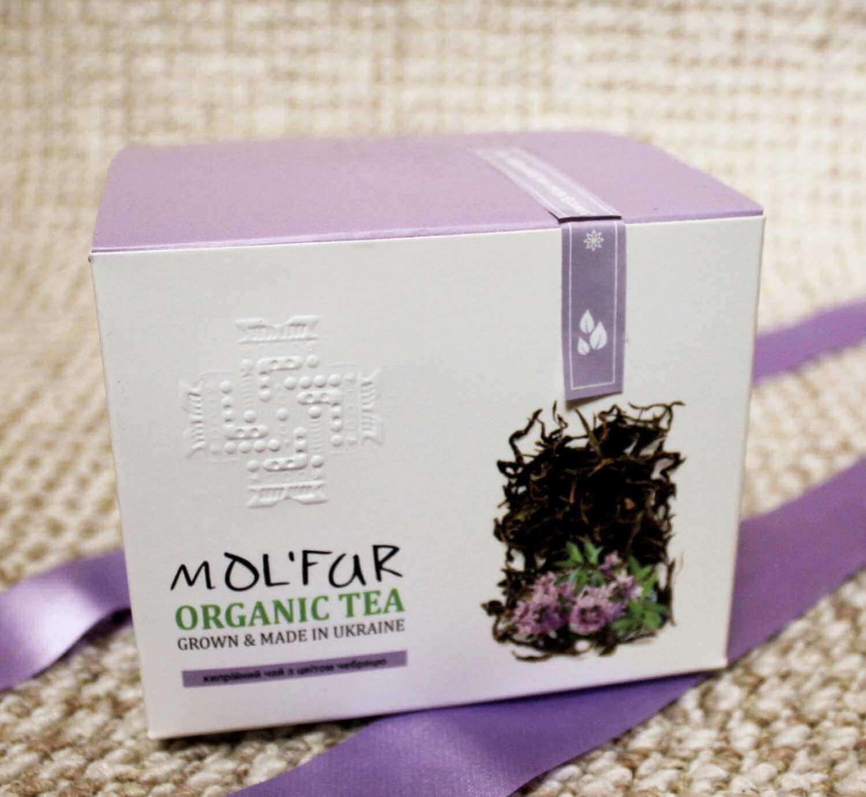 Чай кипрійний з цвітом чебрецю Molfar