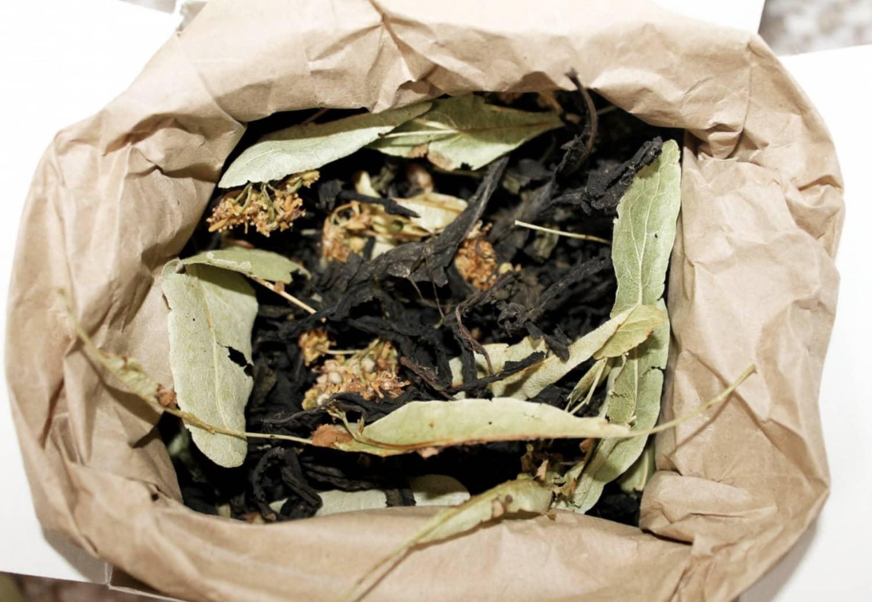 Чай кипрійний з цвітом липа Molfar, відкрита упаковка