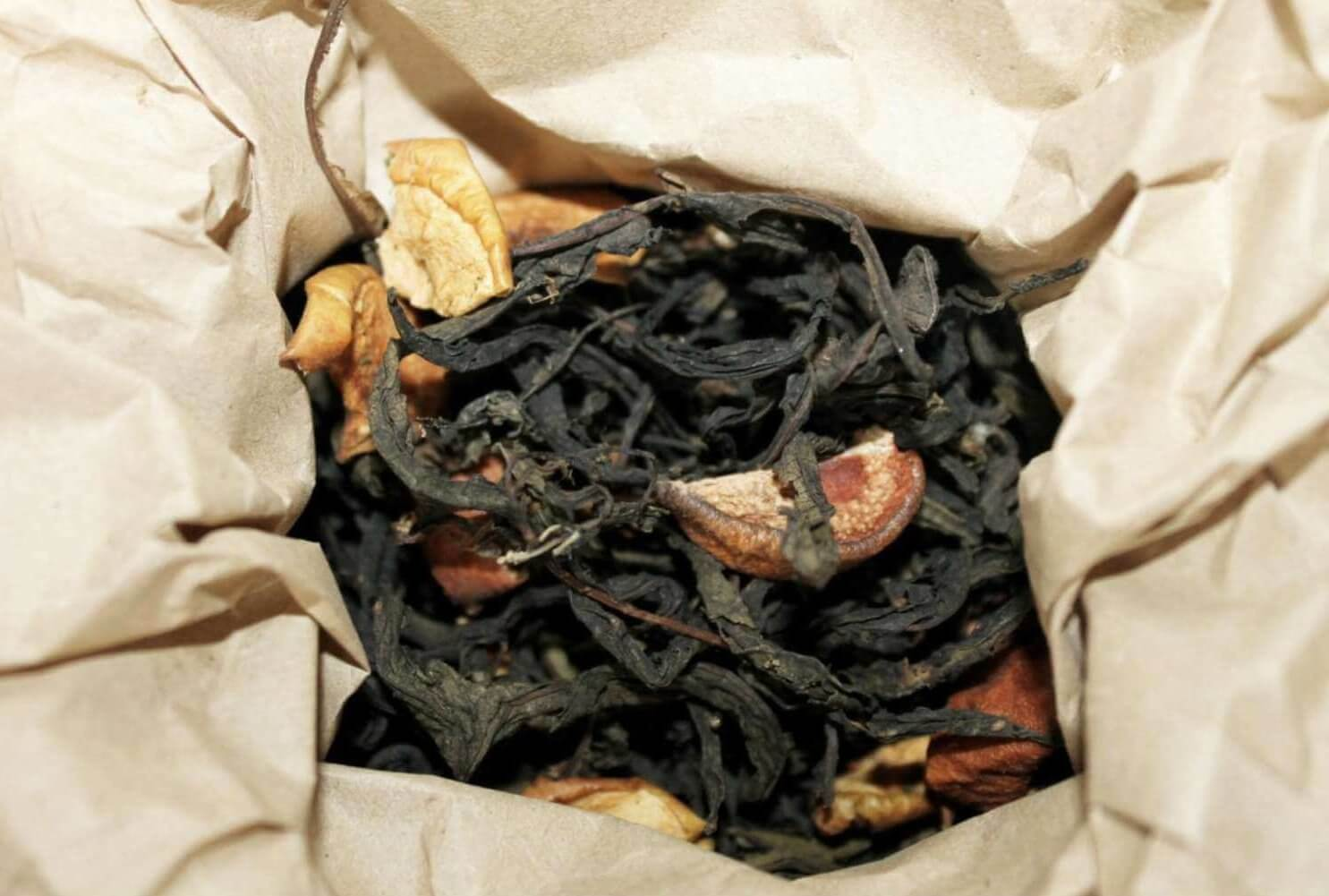 Чай кипрійний з дикою грушею та яблуком Molfar, відкрита упаковка