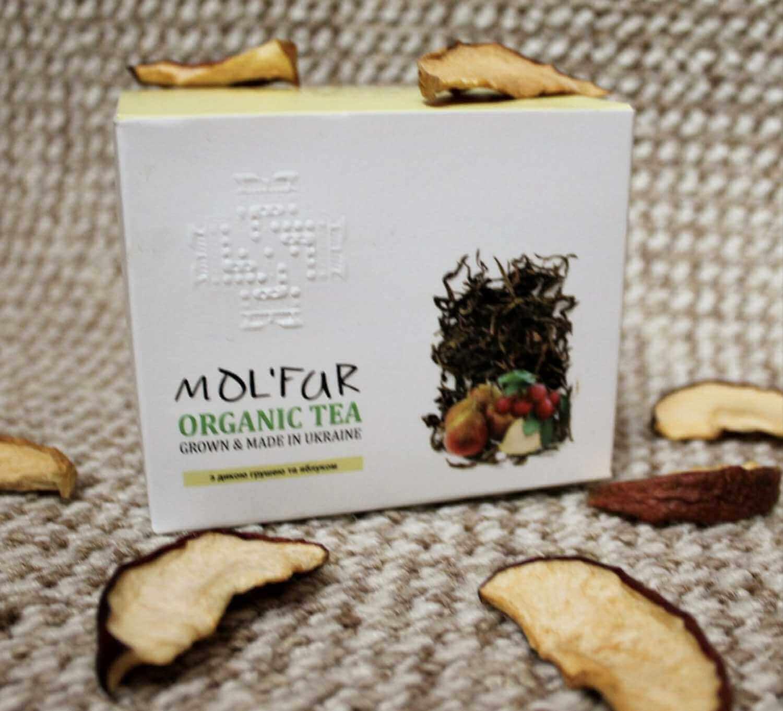 Чай кипрійний з дикою грушею та яблуком Molfar