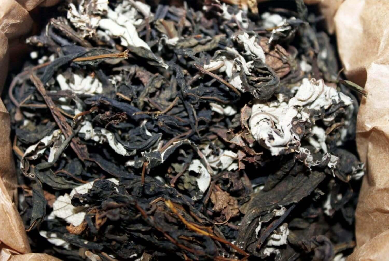 Чай кипрійний з листям малини Molfar, відкрита упаковка