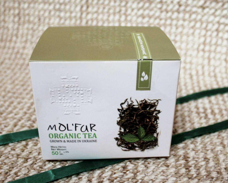 Чай кипрійний з листям малини Molfar