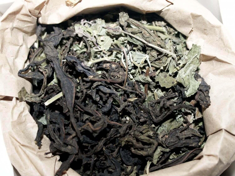 Чай кипрійний з м'ятою та мелісою Molfar, відкрита упаковка