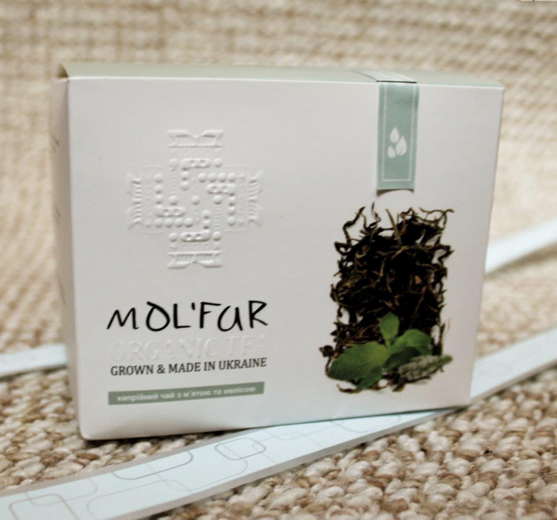 Чай кипрійний з м'ятою та мелісою Molfar