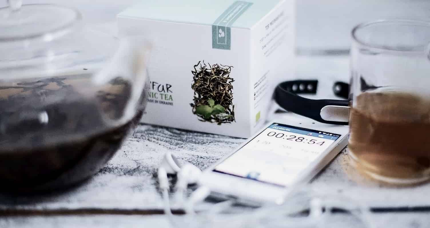 Упаковка чая Molfar