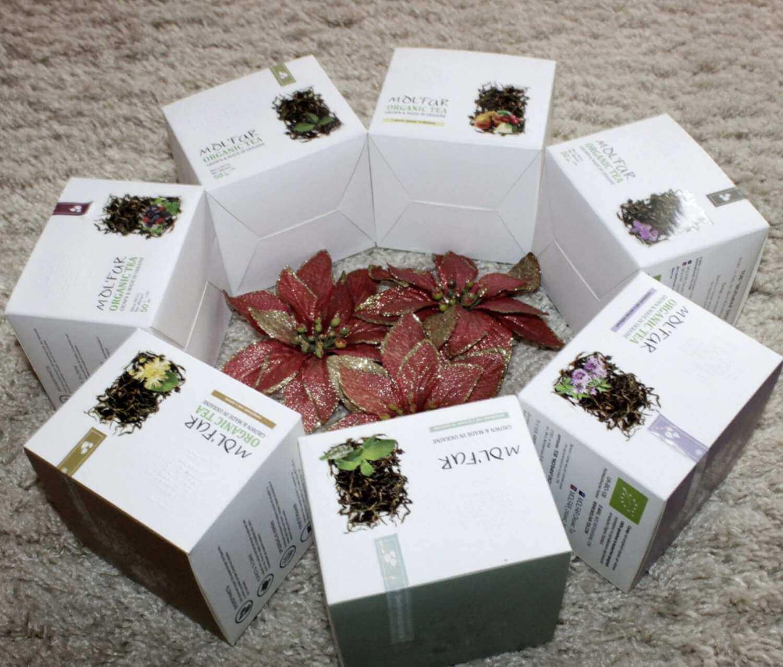 Закриті коробки чаю Molfar